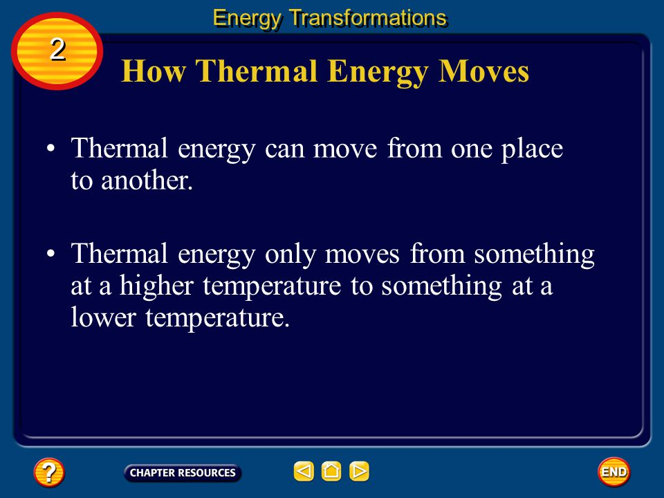 How Thermal Energy Moves