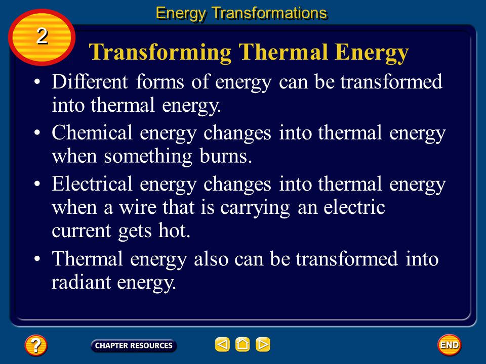 Transforming Thermal Energy