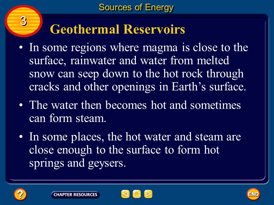 Geothermal Reservoirs