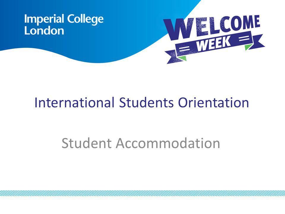 International Students Orientation
