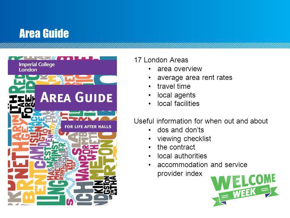 Area Guide 17 London Areas area overview average area rent rates