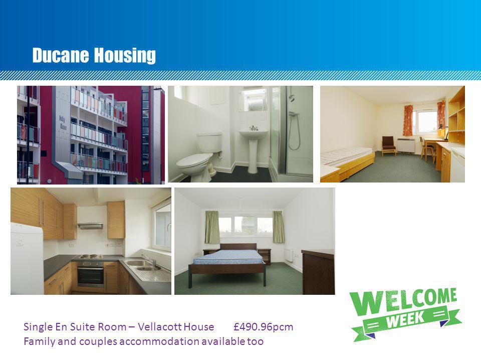 Ducane Housing Single En Suite Room – Vellacott House £490.96pcm