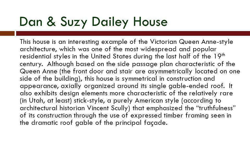 Dan & Suzy Dailey House