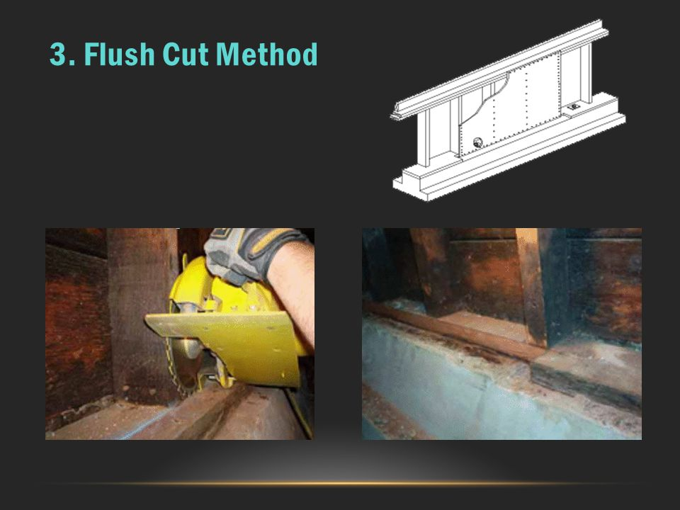 3. Flush Cut Method