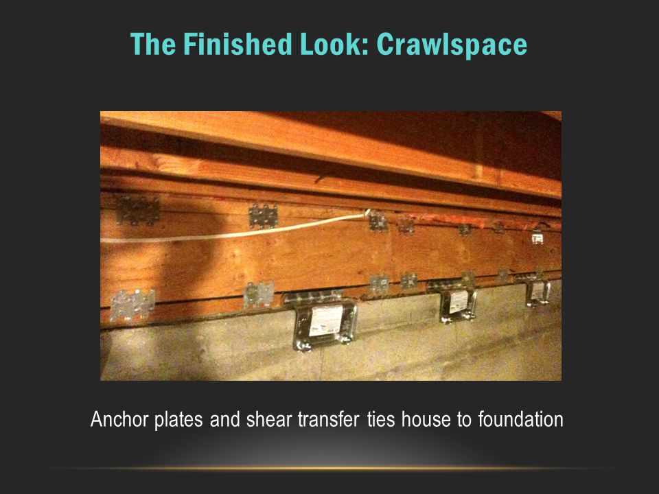 The Finished Look: Crawlspace