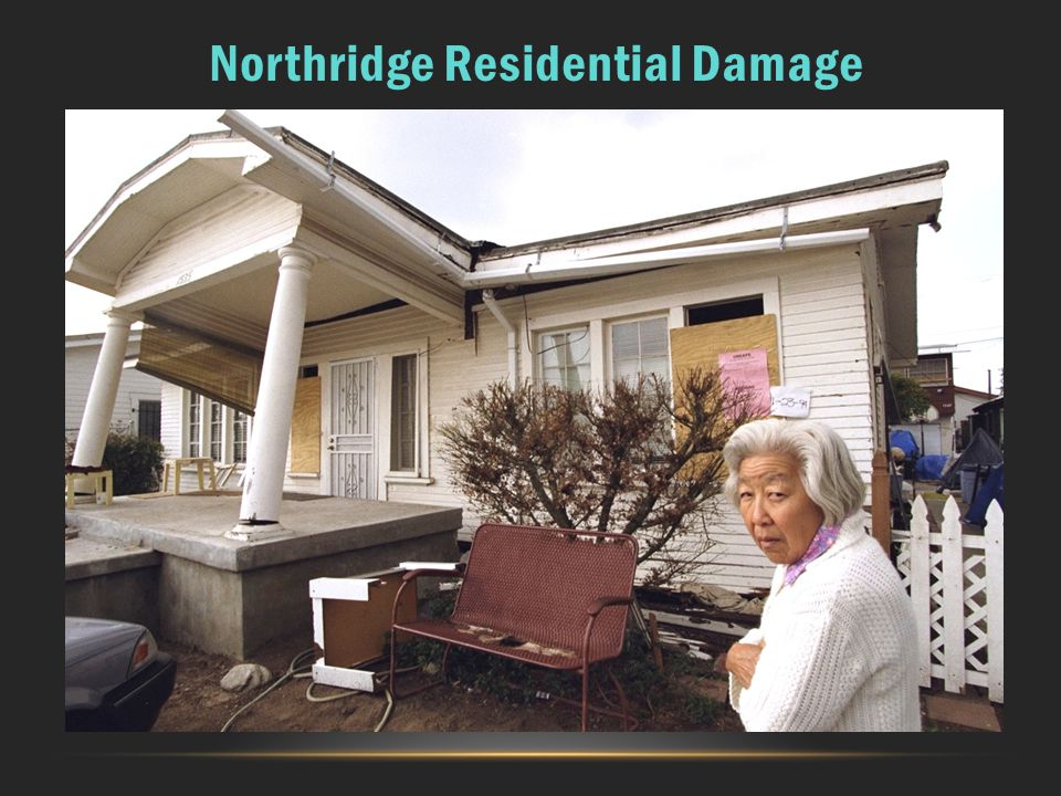 Northridge Residential Damage