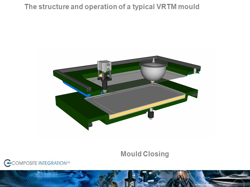 The structure and operation of a typical VRTM mould
