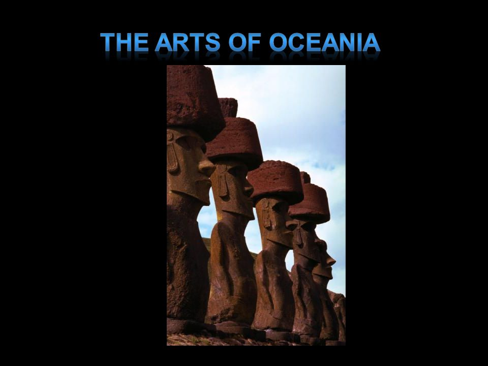 The Arts of Oceania