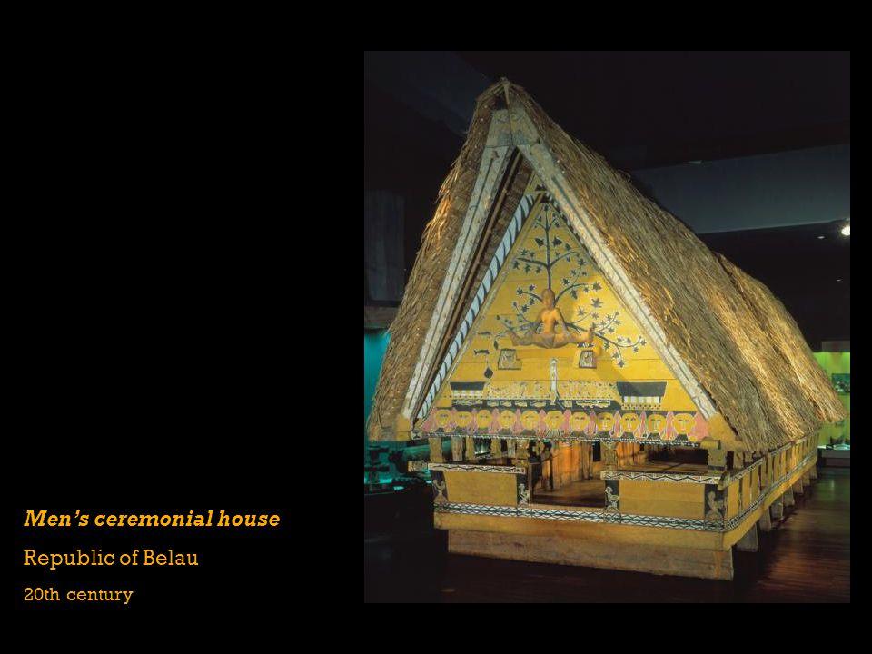 Men's ceremonial house Republic of Belau