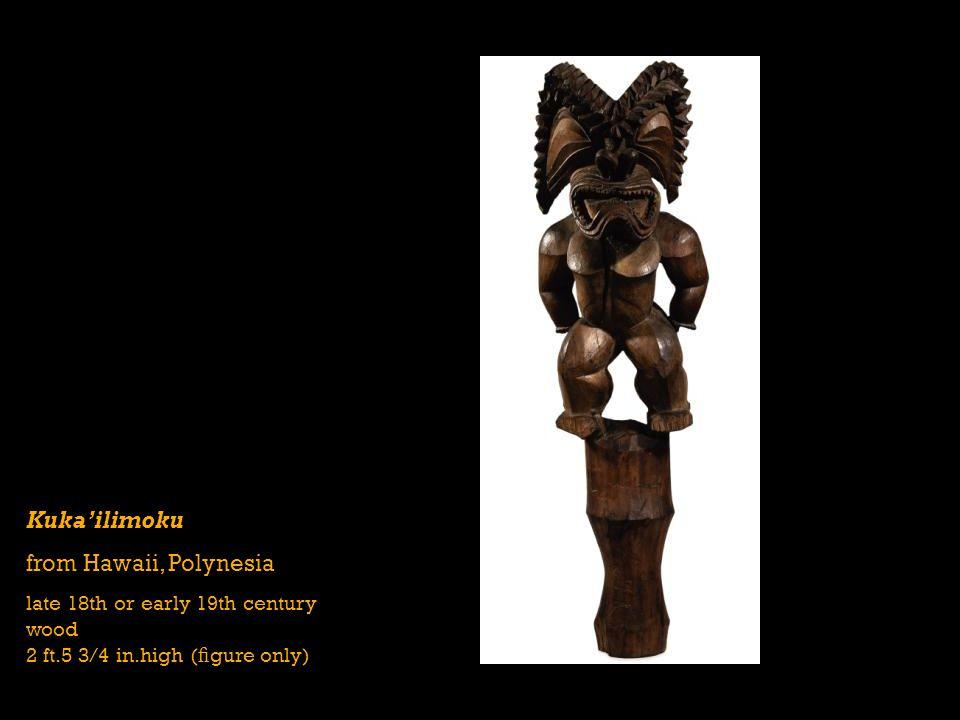 Kuka'ilimoku from Hawaii, Polynesia