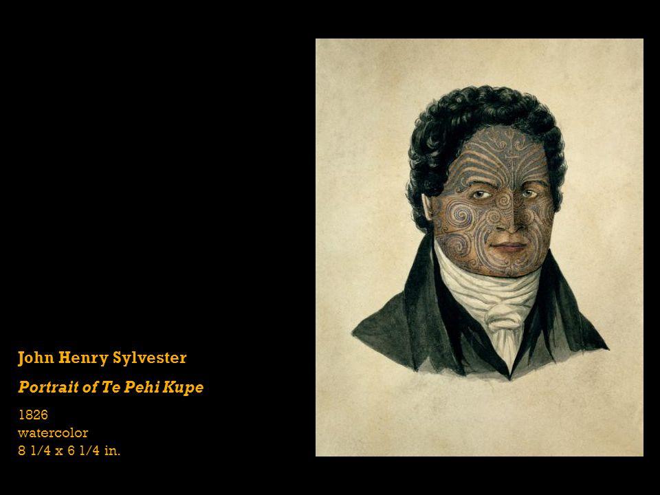 Portrait of Te Pehi Kupe