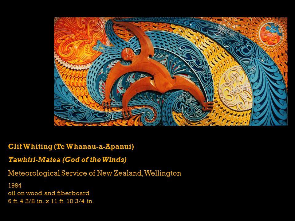 Clif Whiting (Te Whanau-a-Apanui) Tawhiri-Matea (God of the Winds)