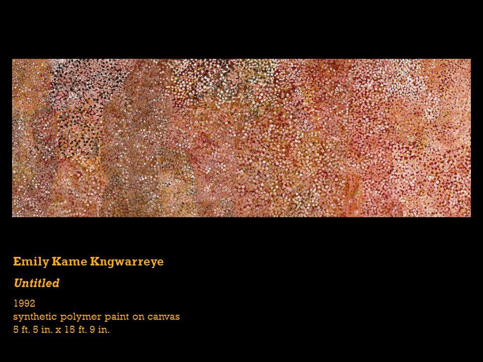 Emily Kame Kngwarreye Untitled