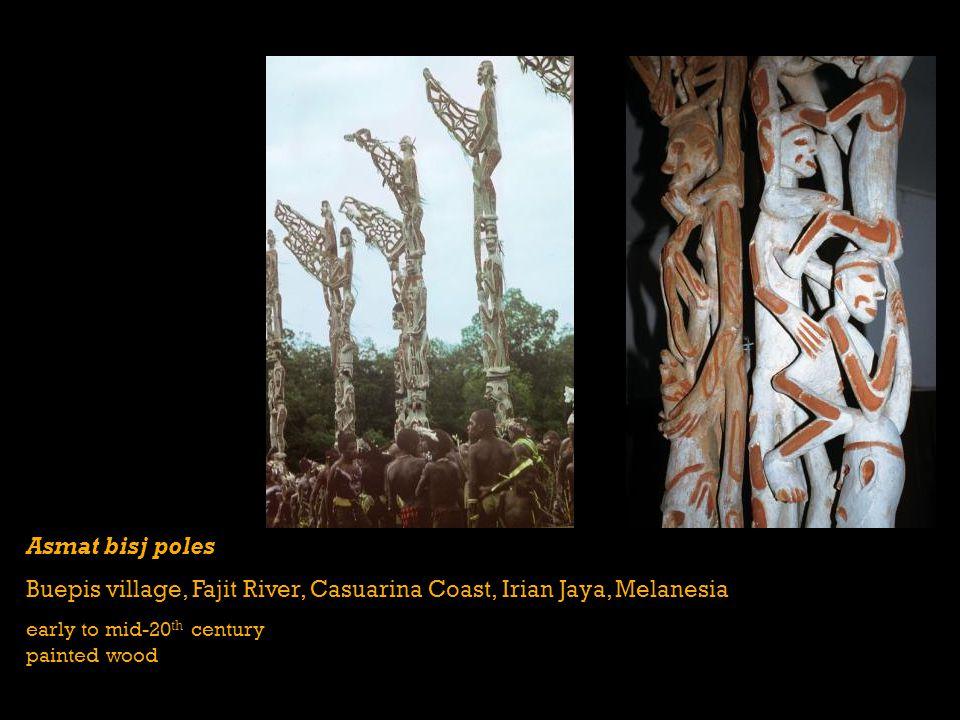 Buepis village, Fajit River, Casuarina Coast, Irian Jaya, Melanesia