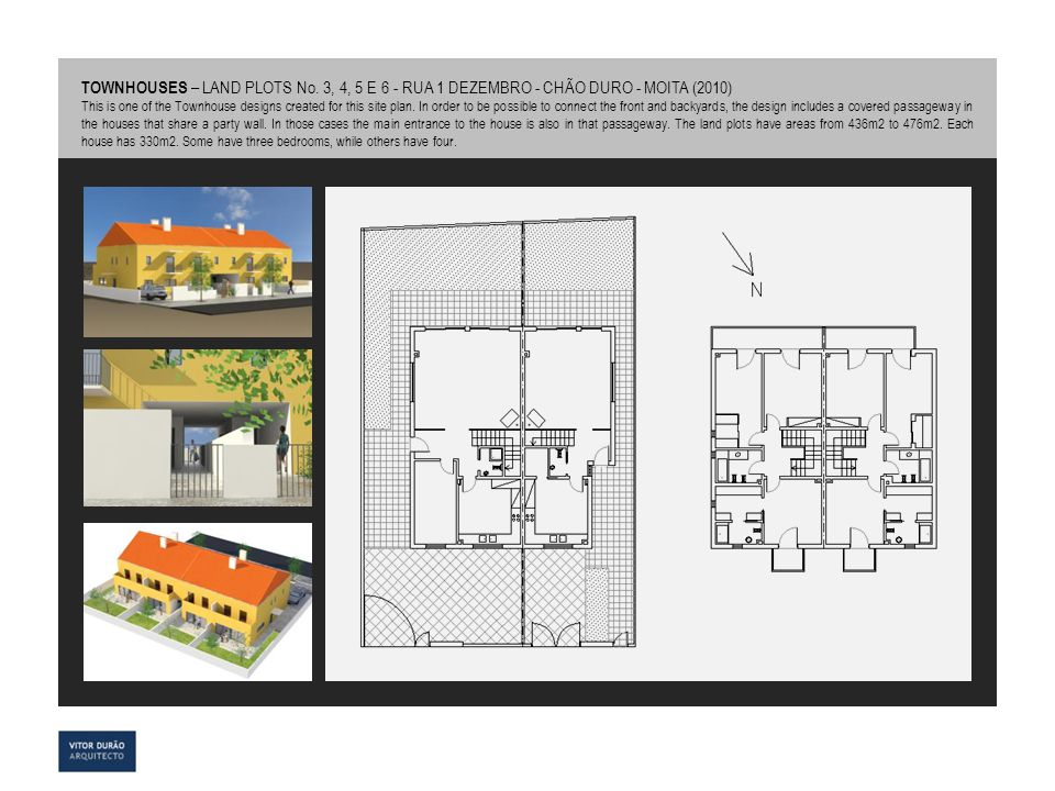 TOWNHOUSES – LAND PLOTS No
