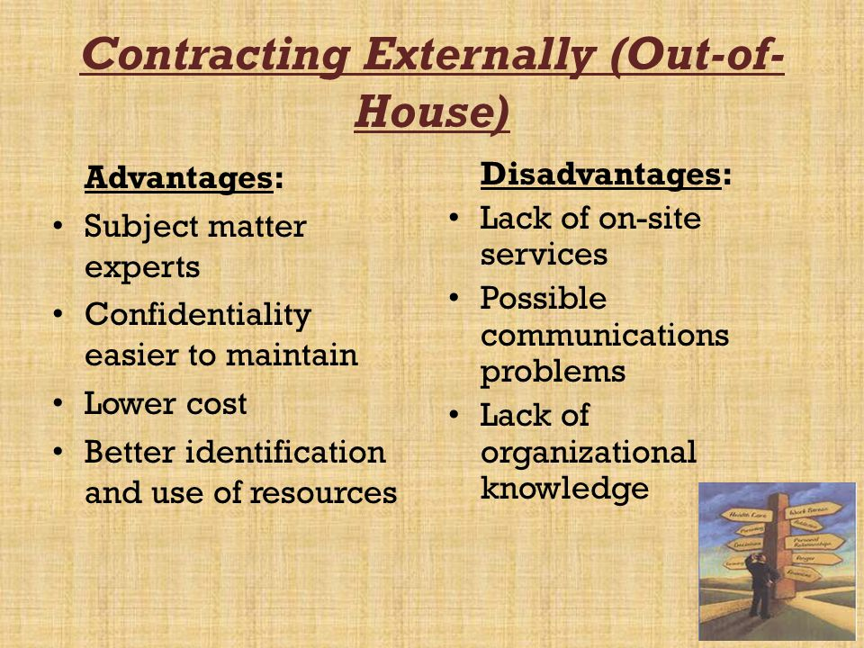 Contracting Externally (Out-of-House)