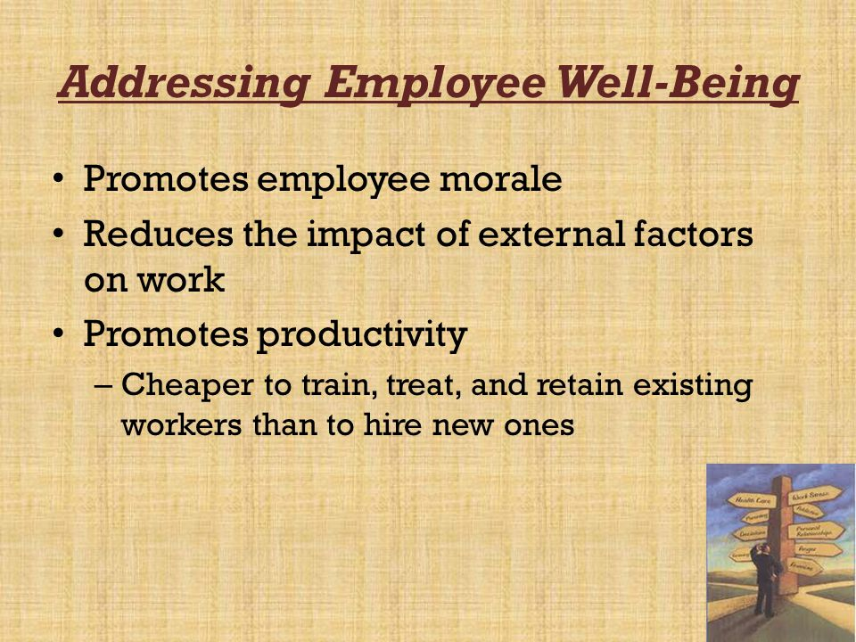 Addressing Employee Well-Being
