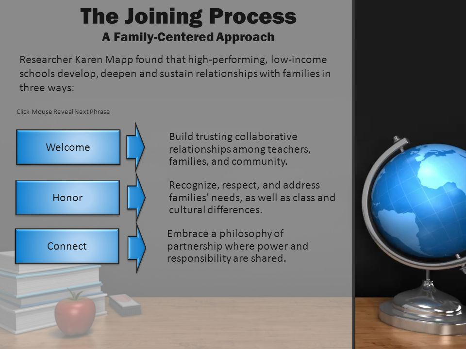 The Joining Process A Family-Centered Approach