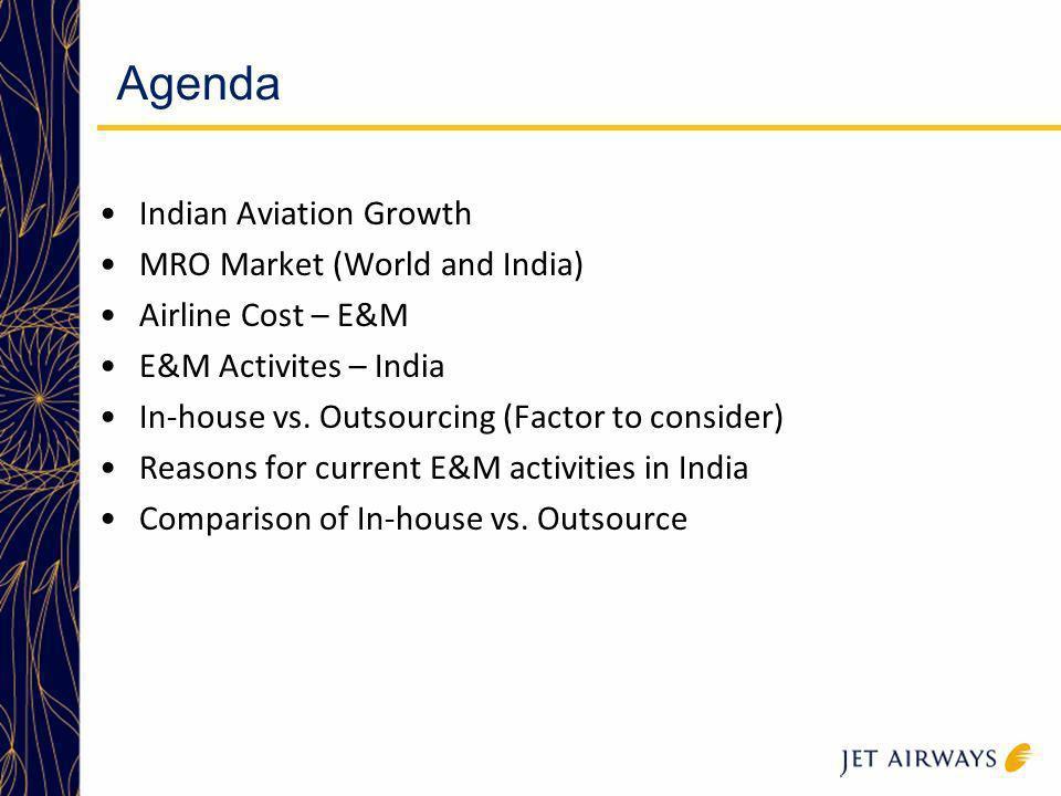 Agenda Indian Aviation Growth MRO Market (World and India)