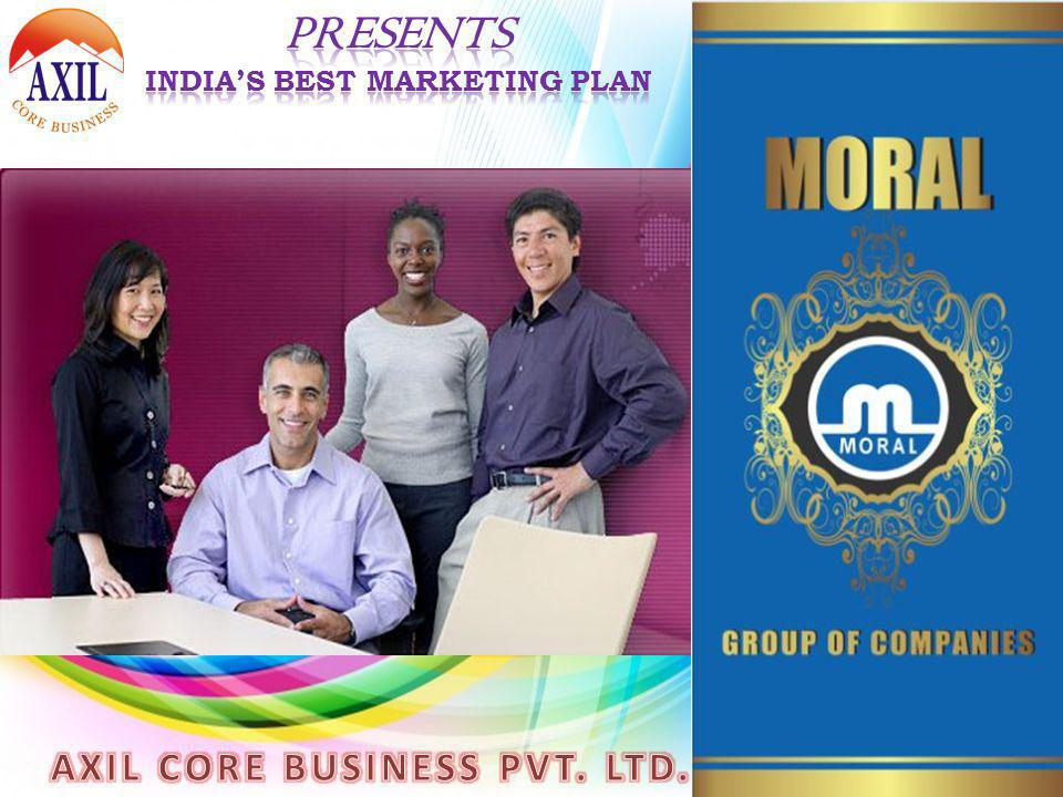 India's Best Marketing Plan AXIL CORE BUSINESS PVT. LTD.