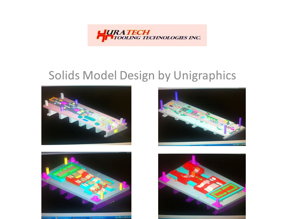 Solids Model Design by Unigraphics