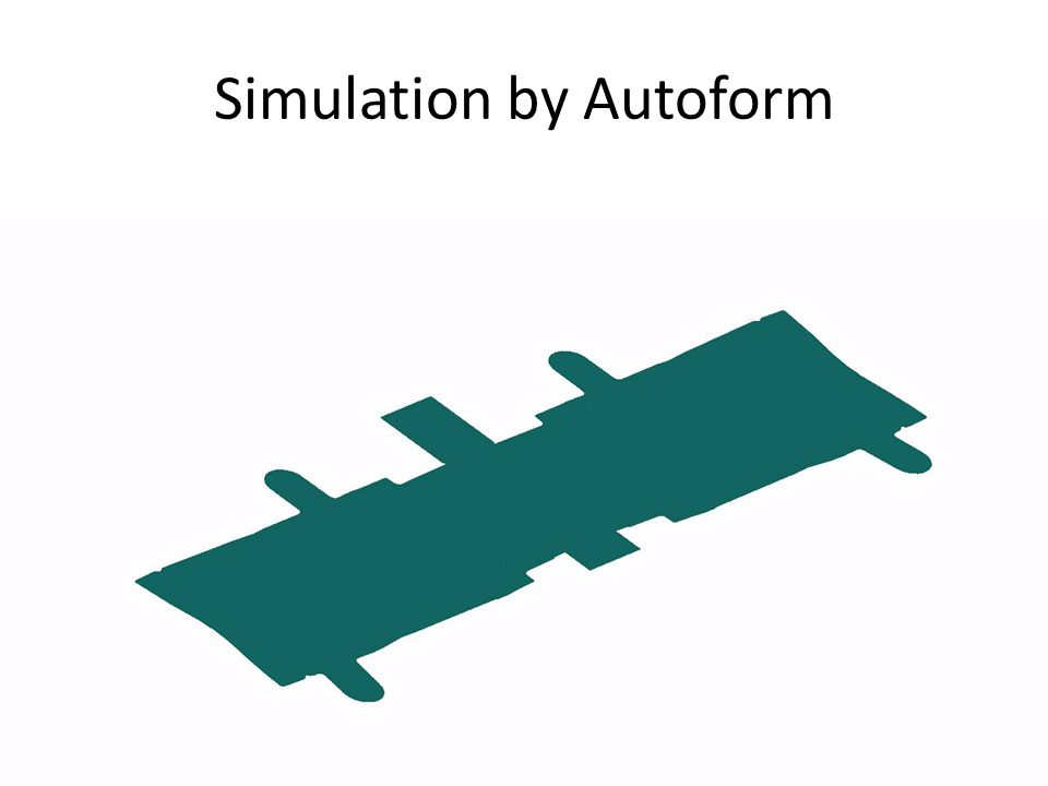 Simulation by Autoform