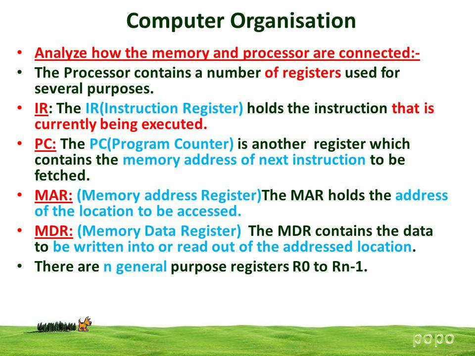 Computer Organisation