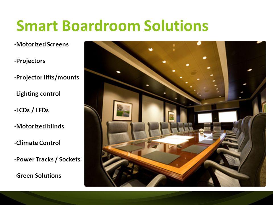 Smart Boardroom Solutions