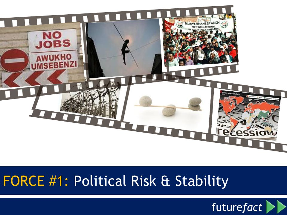 FORCE #1: Political Risk & Stability