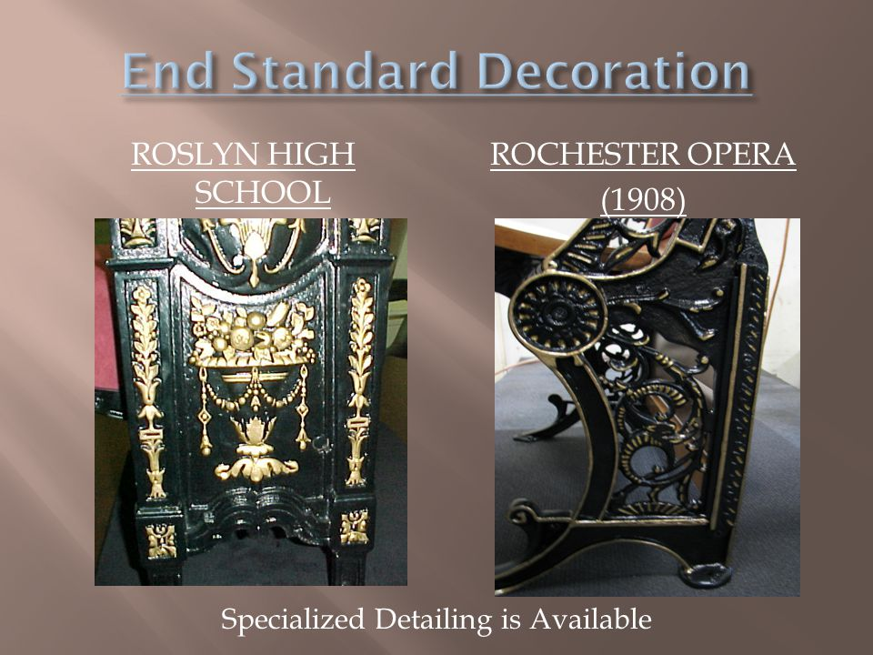 End Standard Decoration