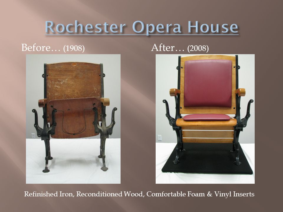 Rochester Opera House Before… (1908) After… (2008)