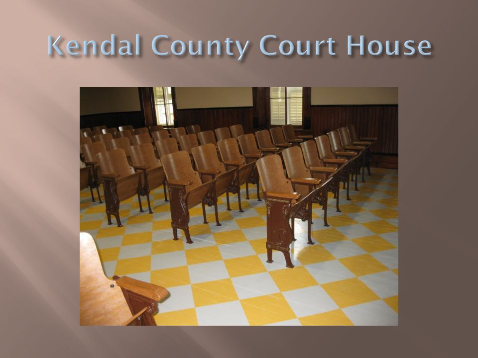 Kendal County Court House
