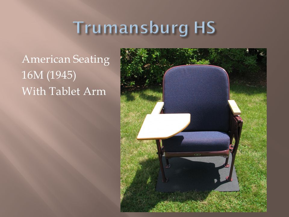 Trumansburg HS American Seating 16M (1945) With Tablet Arm