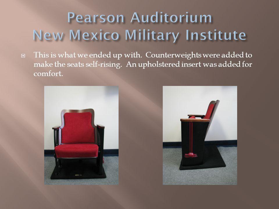 Pearson Auditorium New Mexico Military Institute