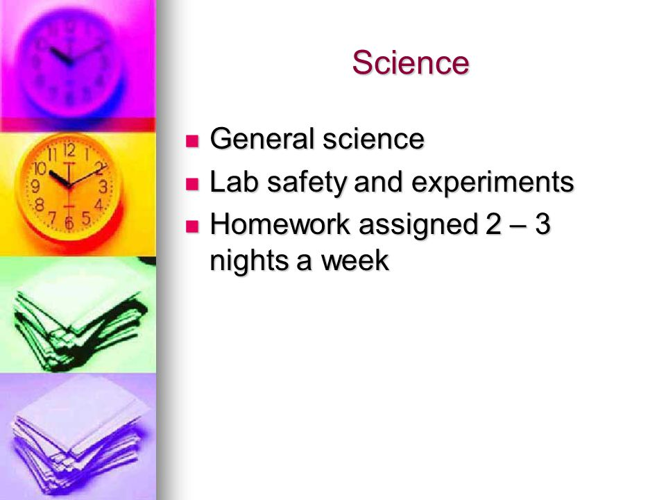 Science General science Lab safety and experiments
