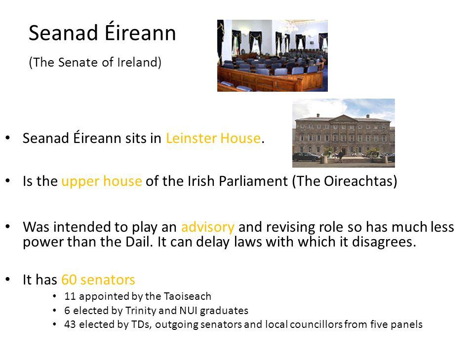 Seanad Éireann (The Senate of Ireland)