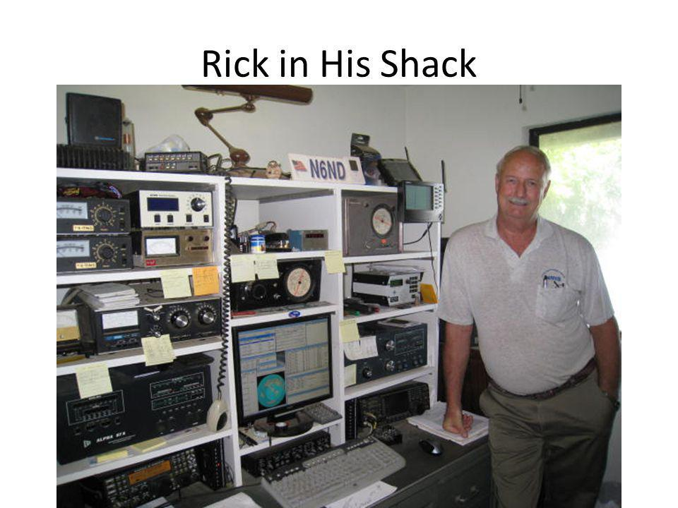 Rick in His Shack
