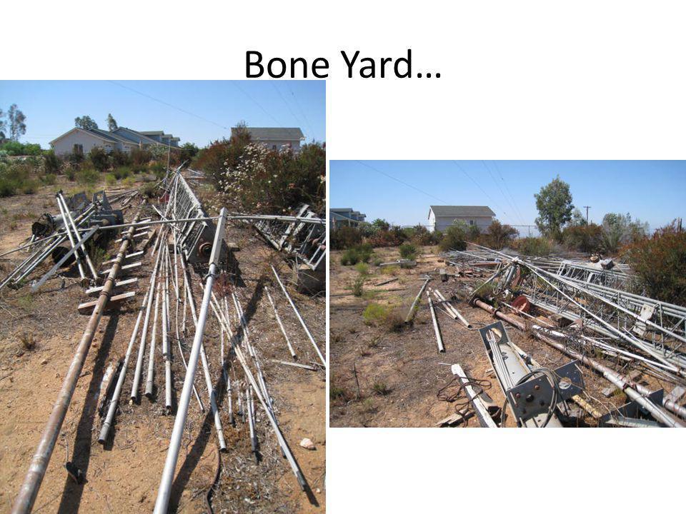 Bone Yard…