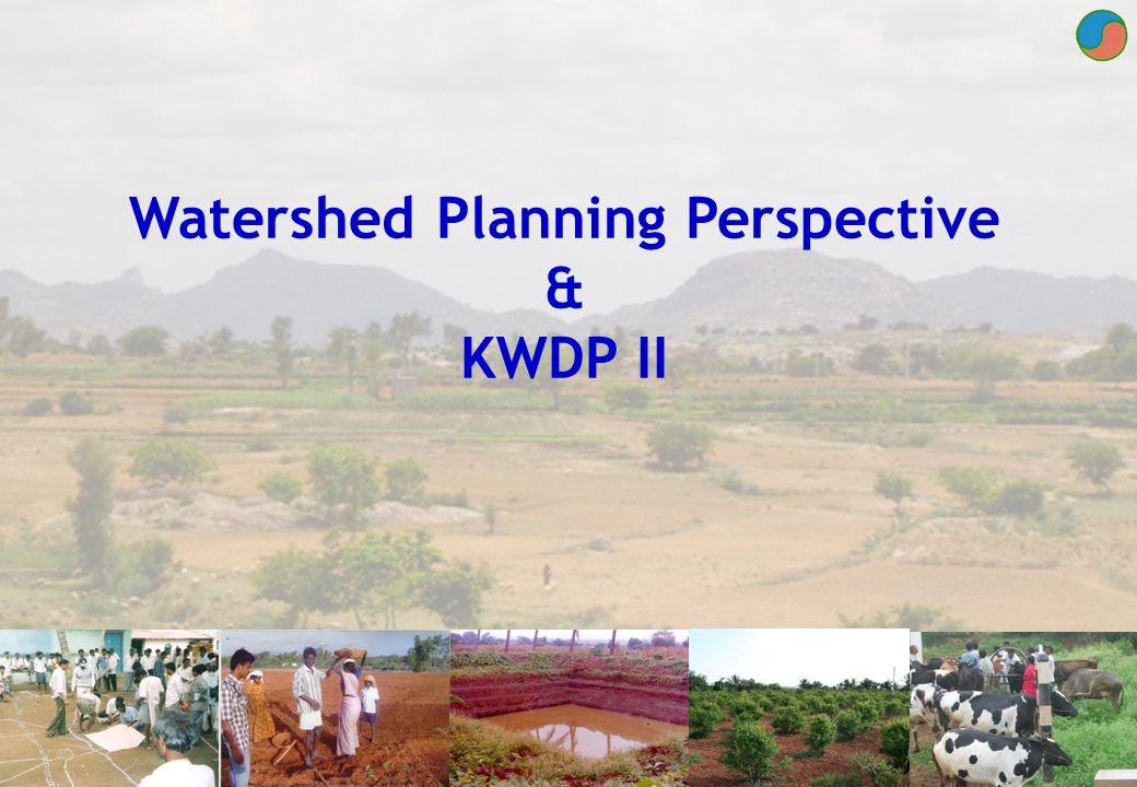 Watershed Planning Perspective