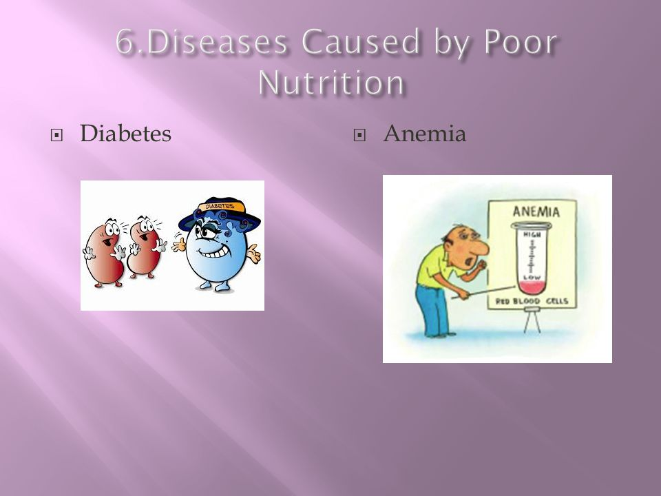 6.Diseases Caused by Poor Nutrition