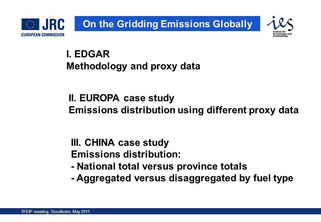 On the Gridding Emissions Globally