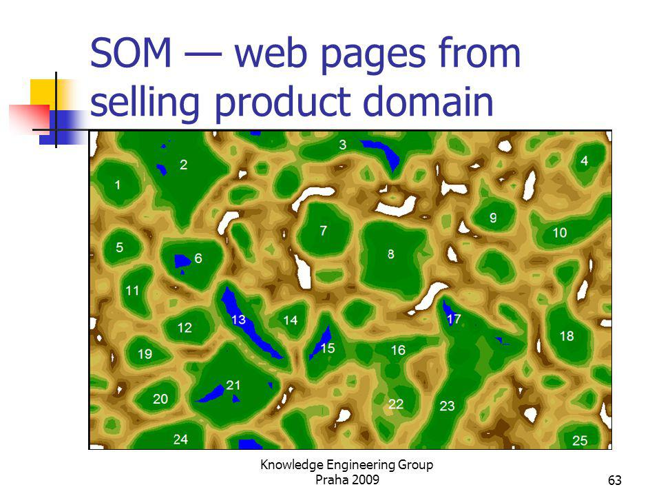 SOM — web pages from selling product domain