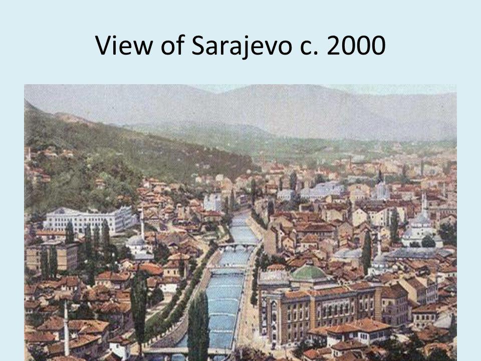 View of Sarajevo c. 2000
