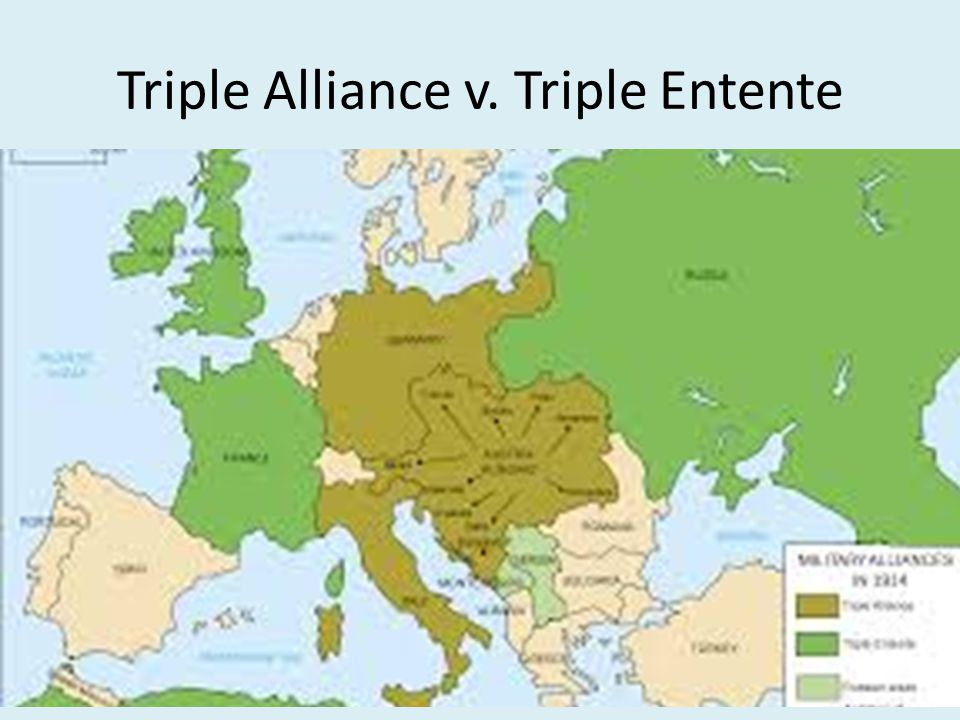 Triple Alliance v. Triple Entente