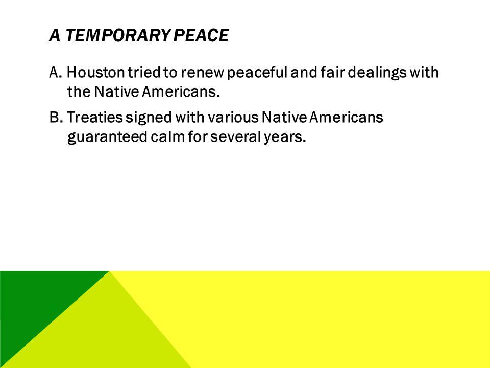 A Temporary Peace