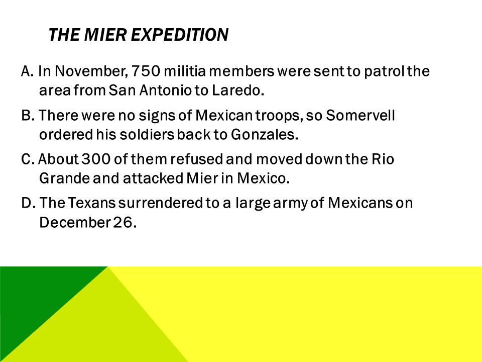 The Mier Expedition