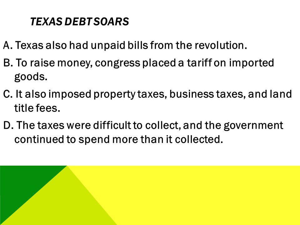 Texas Debt Soars