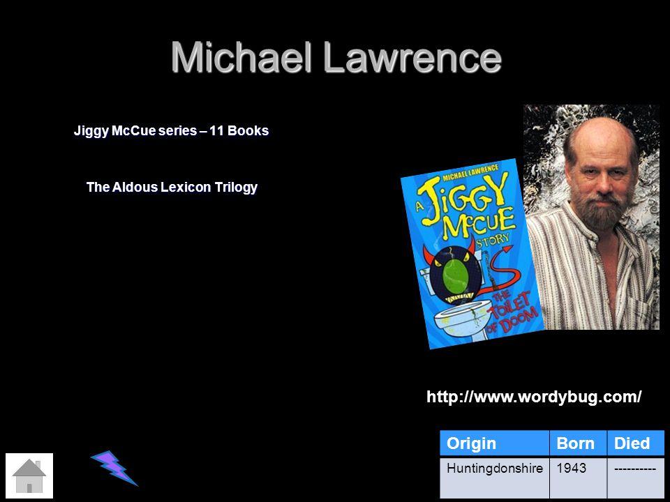 Jiggy McCue series – 11 Books The Aldous Lexicon Trilogy