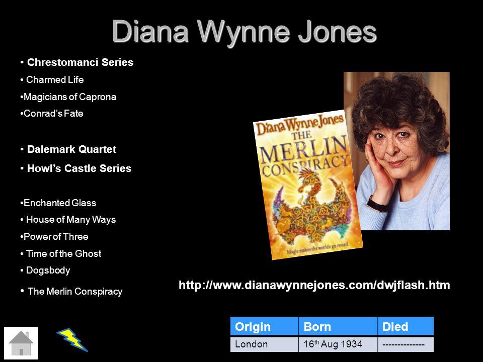 Diana Wynne Jones The Merlin Conspiracy