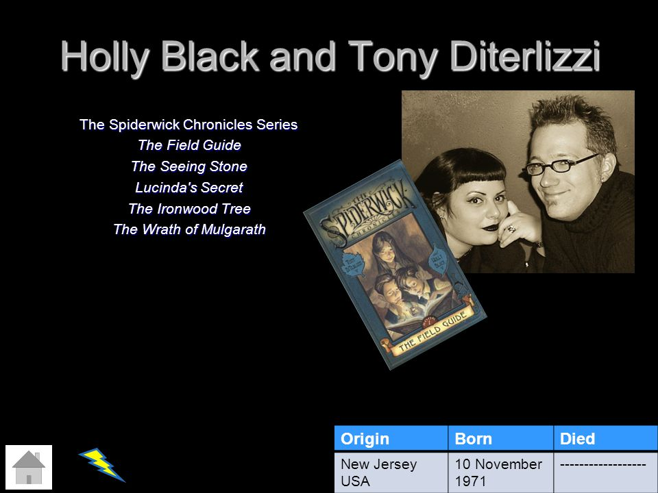 Holly Black and Tony Diterlizzi